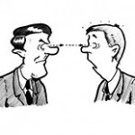 Blickkontakt halten - Rhetorikkurs stagement